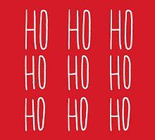 Ho Ho Ho by Leah Flores