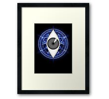 Fullmetal Alchemist Eye of Truth Framed Print