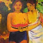 Gauguin's, Two Tahitian Women by Virginia McGowan