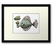 Fish Pipe Framed Print