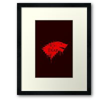 The Red Wedding Framed Print
