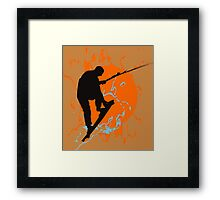 Kite Boarding Framed Print