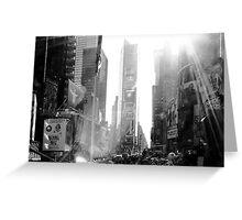 Broadway New York Greeting Card