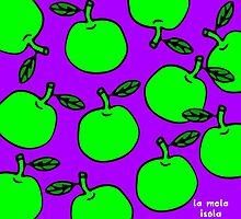La Mela Isola - She'll Be Apples Tote Bag by la-mela-isola