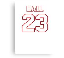 NFL Player DeAngelo Hall twentythree 23 Canvas Print