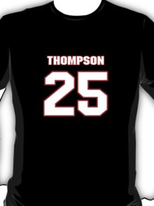 NFL Player Chris Thompson twentyfive 25 T-Shirt