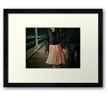 Palm to Palm Framed Print