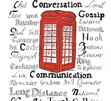 Telephone Box Design by DebbieSheldon