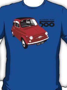 Classic Fiat 500 red T-Shirt