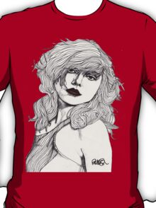 Debbie with Red Lips T-Shirt