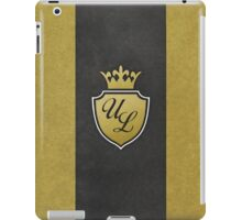 Ultra Luxe Casino Crest iPad Case/Skin