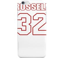 NFL Player Anderson Russell thirtytwo 32 iPhone Case/Skin