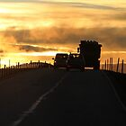 Driving into a New Day by karina5