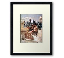 Whispering Noon 1896 By Sir Lawrence Alma-Tadema Framed Print