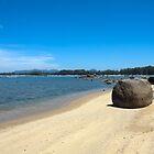 Rock on Bang Tao Beach,  Phuket by Kevin Hellon