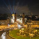 Night Life Barca  by Shaun Colin Bell
