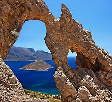 Natural Rocky Arch - Kalymnos island by Hercules Milas