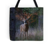 At the end of the day - White-tailed deer Buck Tote Bag
