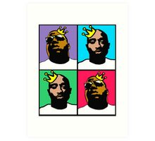 HIP-HOP ICONS: NOTORIOUS THUGS (4-COLOR) Art Print