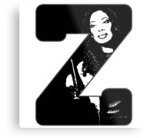 Z is for Zoe Metal Print