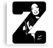Z is for Zoe Canvas Print
