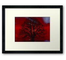 Gothic tree  Framed Print