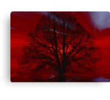 Gothic tree  Canvas Print