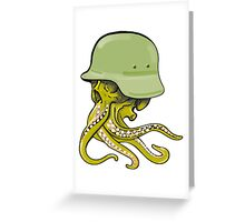 Warsquid Greeting Card
