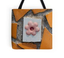 background with tiles Tote Bag