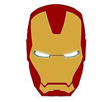 Iron Man Helmet Photographic Print