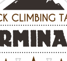 Rock Climbing Takes Determanation Sticker