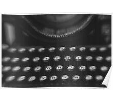 Woodstock Typewriter Study 1 Poster