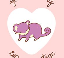 Rattata Valentine V2 by Steph Hodges
