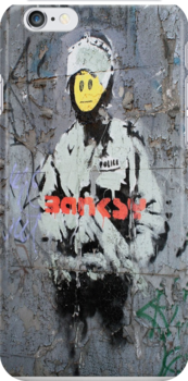 Banksy Smile Cop  by areyarey