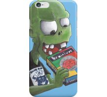 Brainium a Game for Zombies!!!! iPhone Case/Skin