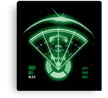 Alien Tracking Canvas Print