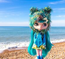 Sea blues and greens by Zoe Power