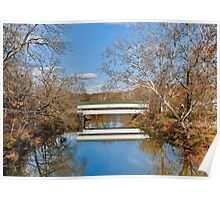 Westport Covered Bridge Poster