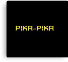 Pika-pika Canvas Print
