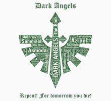 Dark Angels, Warhammer 40K by ZsaMo