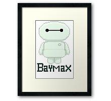 Big hero 6 baymax  chibi Framed Print