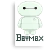 Big hero 6 baymax  chibi Metal Print