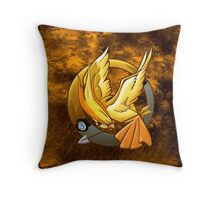 Hunger Phoenix Pokeball Throw Pillow