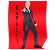 12th Doctor Peter Capaldi minimalist Poster