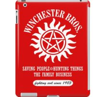 SUPERNATURAL - WINCHESTER BROTHERS SINCE 1983 iPad Case/Skin