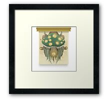 Glitch furniture wall decor lem PIXELATED Framed Print