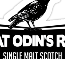 Great Odin's Raven! Single Malt Scotch Sticker