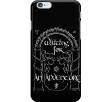 Waiting for an adventure iPhone Case/Skin