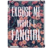 'Scuse Me While I Fangirl 2 iPad Case/Skin