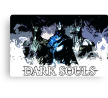 Dark Souls Knights Canvas Print